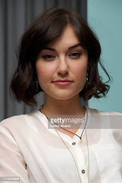 Actress Sasha Grey presents her book La Sociedad de Juliette at the Hotel ME on June 26 2013 in Madrid Spain