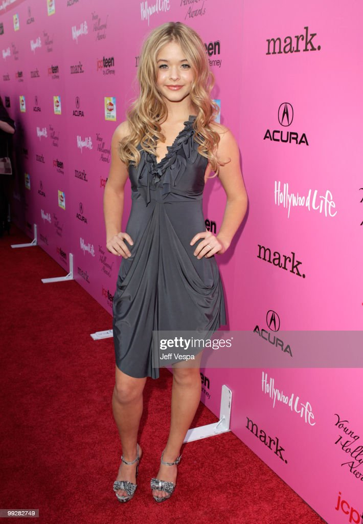 Actress Sasha Pieterse arrives at the 12th annual Young Hollywood Awards sponsored by JC Penney , Mark. & Lipton Sparkling Green Tea held at the Ebell of Los Angeles on May 13, 2010 in Los Angeles, California.