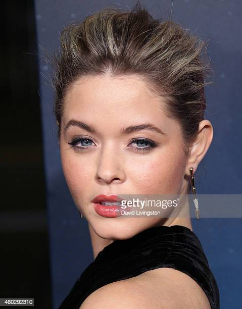 Actress Sasha Pieterse attends the pemiere of Warner Bros Pictures' 'Inherent Vice' at the TCL Chinese Theatre on December 10 2014 in Hollywood...