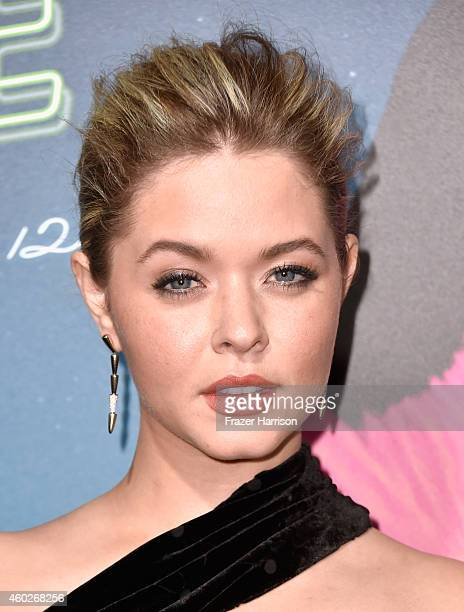 Actress Sasha Pieterse attends the premiere of Warner Bros Pictures' Inherent Vice at TCL Chinese Theatre on December 10 2014 in Hollywood California