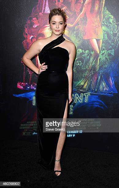 Actress Sasha Pieterse attends the premiere of Warner Bros Pictures' 'Inherent Vice' at TCL Chinese Theatre on December 10 2014 in Hollywood...
