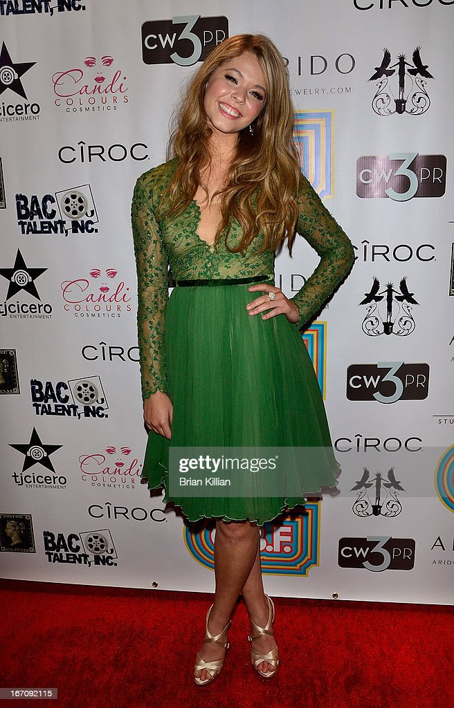 Actress Sasha Pieterse attends the screening of 'G.B.F.' during the 2013 Tribeca Film Festival at Studio XXI on April 19, 2013 in New York City.