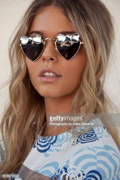Actress Sasha Pieterse is photographed for The Untitled Magazine on January 27 2014 in Los Angeles California CREDIT MUST READ Indira Cesarine/The...