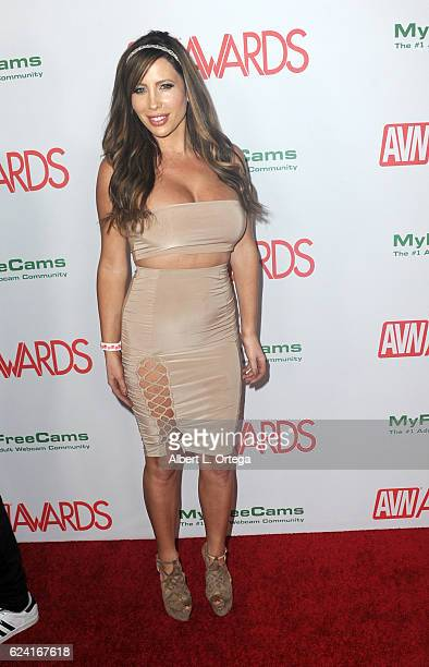 Actress Sasha Reign arrives for the 2017 AVN Awards Nomination Party held at Avalon on November 17 2016 in Hollywood California
