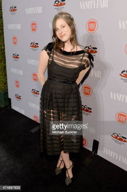 Actress Sasha Spielberg attends Vanity Fair and FIAT celebration of Young Hollywood during Vanity Fair Campaign Hollywood at No Vacancy on February...