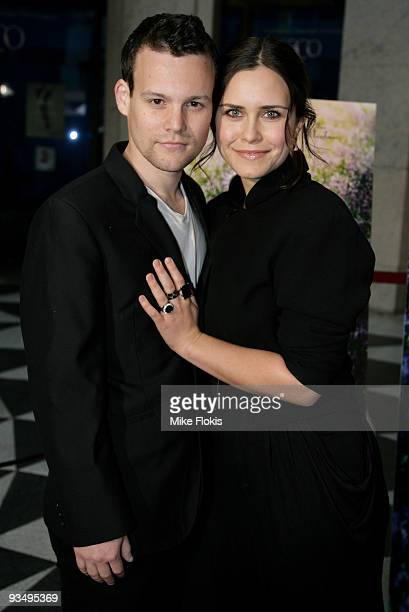 Actress Saskia Burmeister and Jamie Croft arrive for the Australian Premiere of 'Bright Star' at Dendy Opera Quays on November 30, 2009 in Sydney,...