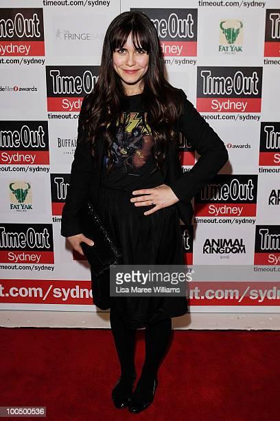 "Actress Saskia Burmeister arrives at the premiere of ""Animal Kingdom"" on May 25, 2010 in Sydney, Australia."