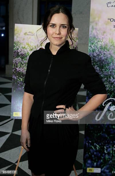 Actress Saskia Burmeister arrives for the Australian Premiere of 'Bright Star' at Dendy Opera Quays on November 30, 2009 in Sydney, Australia.