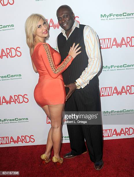 Actress Savana Styles And Actor Lexington Steele Arrive For The 2017 Avn Awards Nomination Party Held