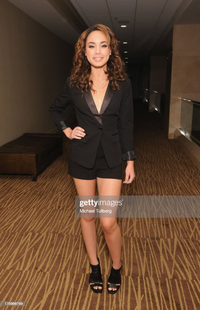 Actress Savannah Jayde attends the 2013 No Bull Teen Video Awards at Westin LAX Hotel on August 10, 2013 in Los Angeles, California.