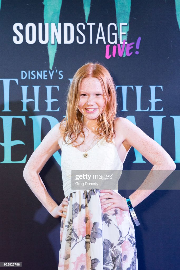 """New Interactive Live Stage Show Of Disney's """"The Little Mermaid"""" : News Photo"""
