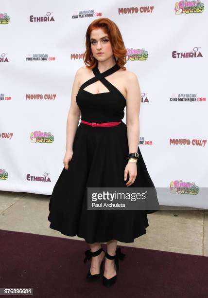 Actress Savannah Rose Scaffe attends the Etheria Film Night at the Egyptian Theatre on June 16 2018 in Hollywood California