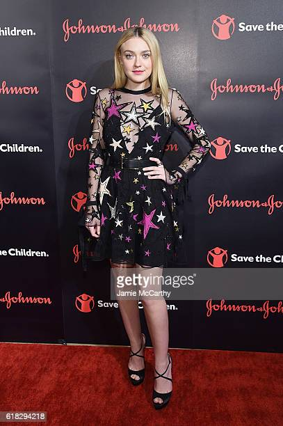 Actress Save the Children Artist Ambassador Dakota Fanning attends the 4th Annual Save the Children Illumination Gala at The Plaza hotel on October...