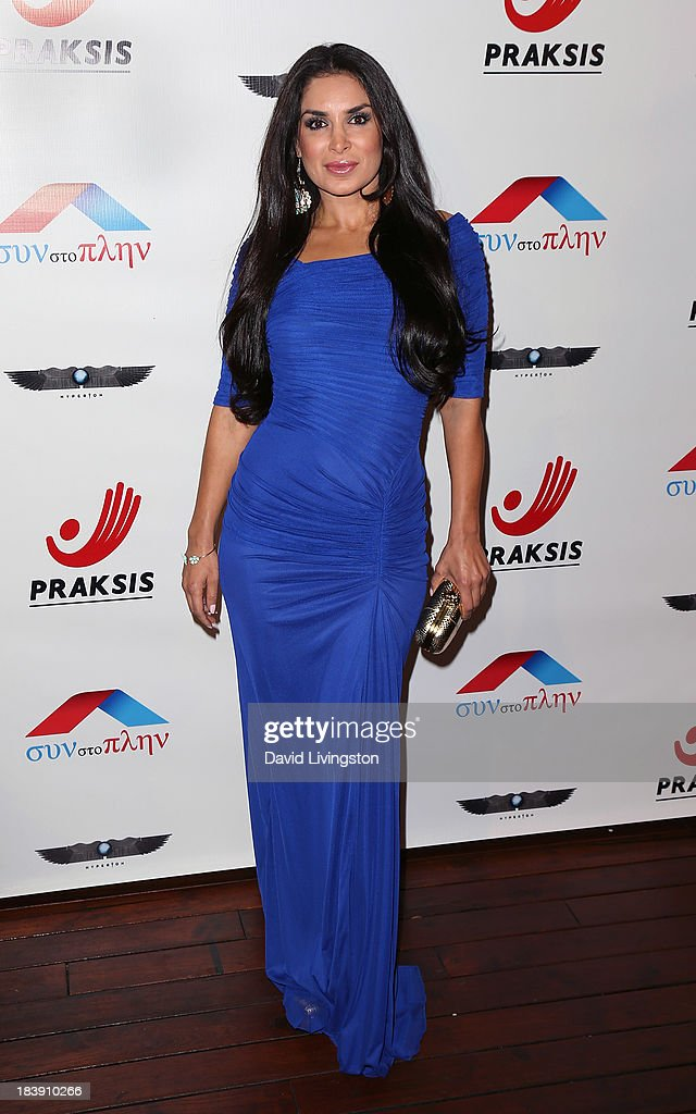 Actress Saye Yabnadeh attends the Philhellenes Gala at SkyBar at the Mondrian Los Angeles on October 9, 2013 in West Hollywood, California.