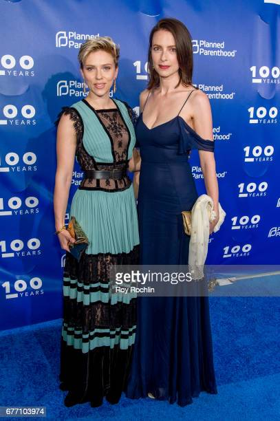 Actress Scarlett Johansson and Vanessa Johansson attend the Planned Parenthood 100th Anniversary Gala at Pier 36 on May 2 2017 in New York City