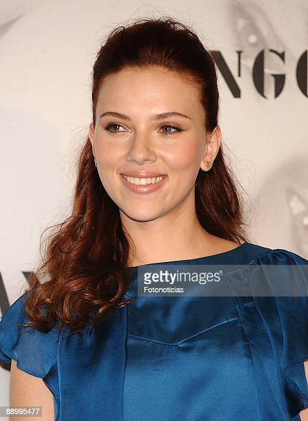 52 Scarlett Johansson Announced As The New Face Of Mango Photos And Premium High Res Pictures Getty Images