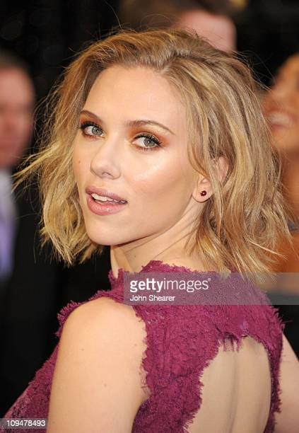 Actress Scarlett Johansson arrives at the 83rd Annual Academy Awards held at the Kodak Theatre on February 27 2011 in Hollywood California