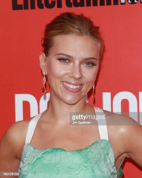 Actress Scarlett Johansson attends Don Jon New York Premiere at SVA Theater on September 12 2013 in New York City