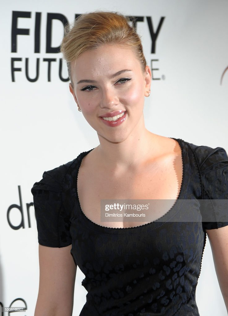 Actress Scarlett Johansson attends the 76th Annual Drama League Awards ceremony and luncheon at the Marriot Marquis on May 21, 2010 in New York City.
