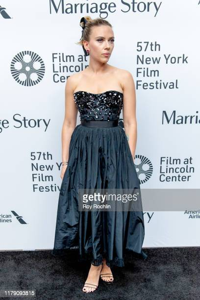 Actress Scarlett Johansson attends the Marriage Story premiere at the 57th New York Film Festival on October 04 2019 in New York City