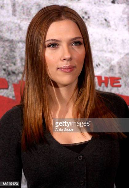 Actress Scarlett Johansson Attends The The Spirit Photocall On December 8 2008 In Berlin
