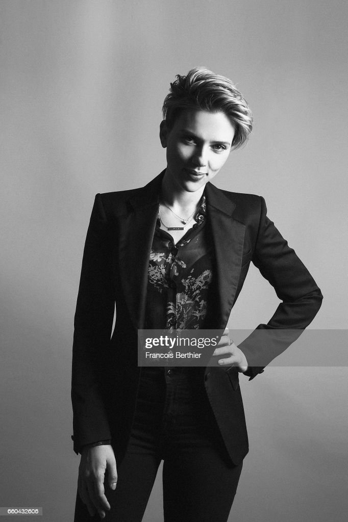 Actress Scarlett Johansson is photographed for Plugged Magazine on January 9, 2017 in New York, USA.