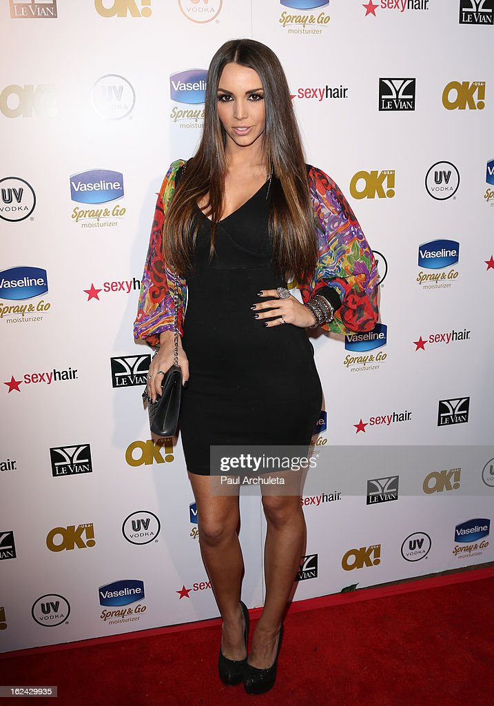 Actress Scheana Marie attends OK! Magazine's Pre-Oscar party at The Emerson Theatre on February 22, 2013 in Hollywood, California.