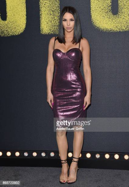 Actress Scheana Shay arrives at the premiere of Universal Pictures' 'Pitch Perfect 3' at Dolby Theatre on December 12 2017 in Hollywood California