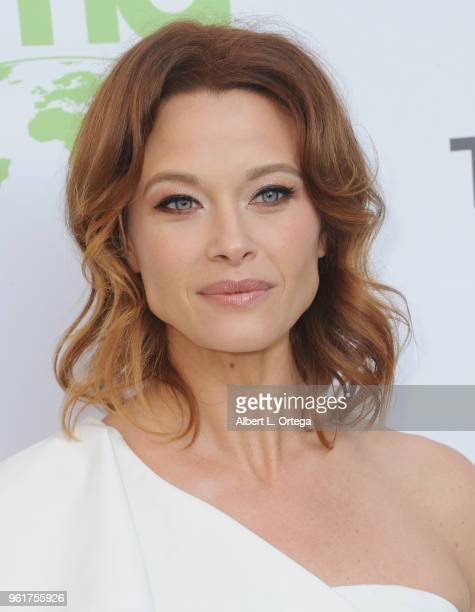 Actress Scottie Thompson arrives for the 28th Annual EMA Awards Ceremony held at Montage Beverly Hills on May 22 2018 in Beverly Hills California
