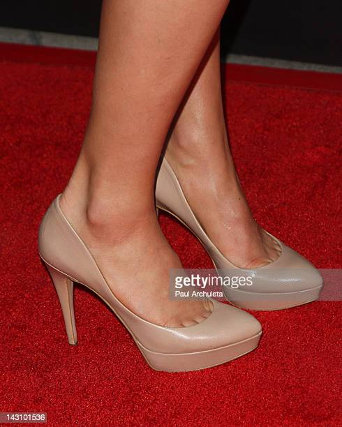 Actress Scottie Thompson attends the Bernie Los Angeles premiere at the ArcLight Cinemas on April 18 2012 in Hollywood California
