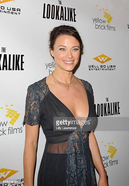 Actress Scottie Thompson attends The Lookalike Los Angeles Premiere at Los Feliz 3 Cinemas on November 5 2014 in Los Angeles California