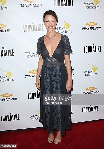 Actress Scottie Thompson attends The Lookalike premiere at the Los Feliz 3 Cinemas on November 5 2014 in Los Angeles California