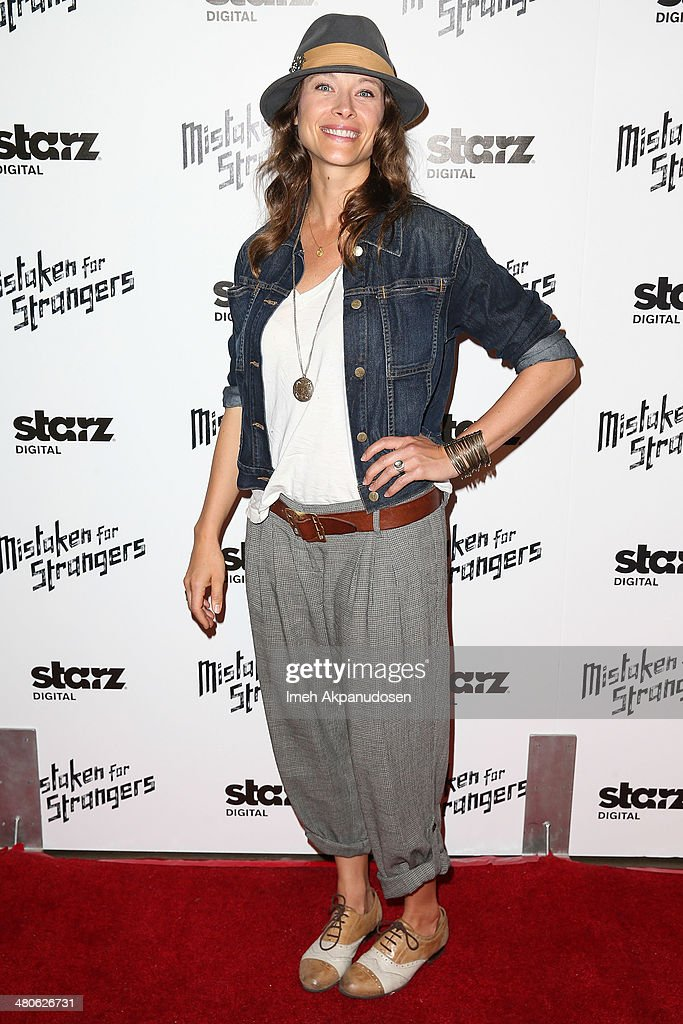 Actress Scottie Thompson attends the Los Angeles screening of 'Mistaken For Strangers' at The Shrine Auditorium on March 25, 2014 in Los Angeles, California.
