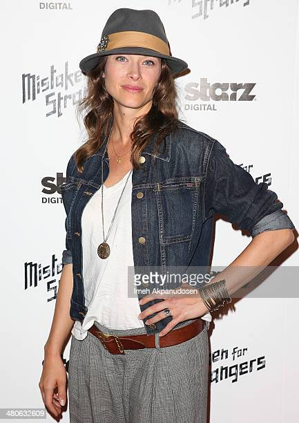 Actress Scottie Thompson attends the Los Angeles screening of 'Mistaken For Strangers' at The Shrine Auditorium on March 25 2014 in Los Angeles...