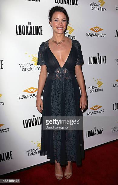 Actress Scottie Thompson attends the premiere of The Lookalike at Los Feliz 3 Cinemas on November 5 2014 in Los Angeles California