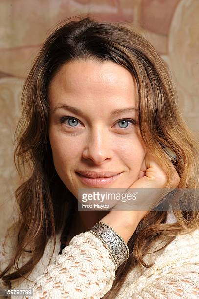 Actress Scottie Thompson attends the SAGIndie Brunch at Cafe Terigo on January 20 2013 in Park City Utah