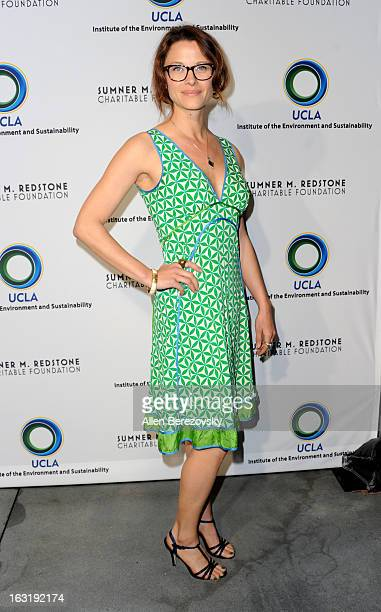 Actress Scottie Thompson attends UCLA Institute Of The Environment And Sustainability's 2nd Annual An Evening Of Environmental Excellence Arrivals on...