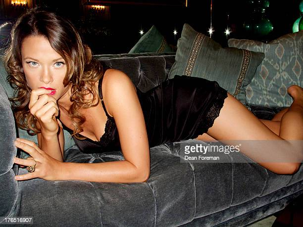 Actress Scottie Thompson is photographed for Self Assignment on November 5 2010 in Los Angeles California
