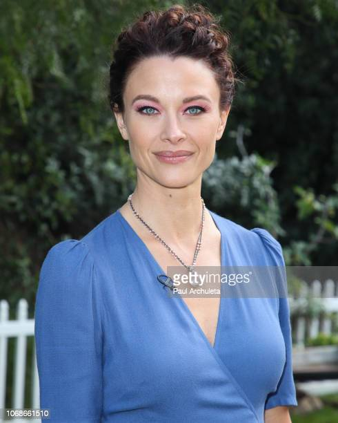 Actress Scottie Thompson visits Hallmark's 'Home Family' at Universal Studios Hollywood on November 16 2018 in Universal City California