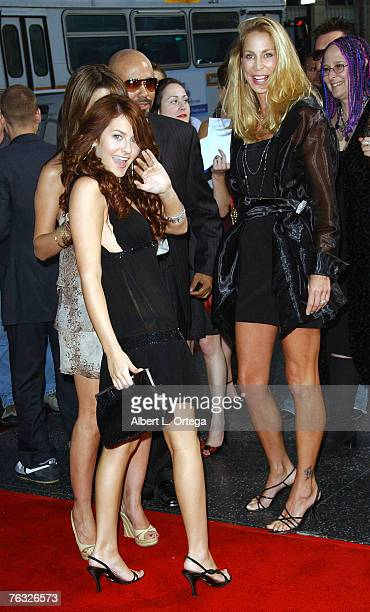 Actress Scout Taylor Compton and actress Kathleen Kinmont attends the world premiere of Rob Zombie's Halloween at Grauman's Chinese Theater in...