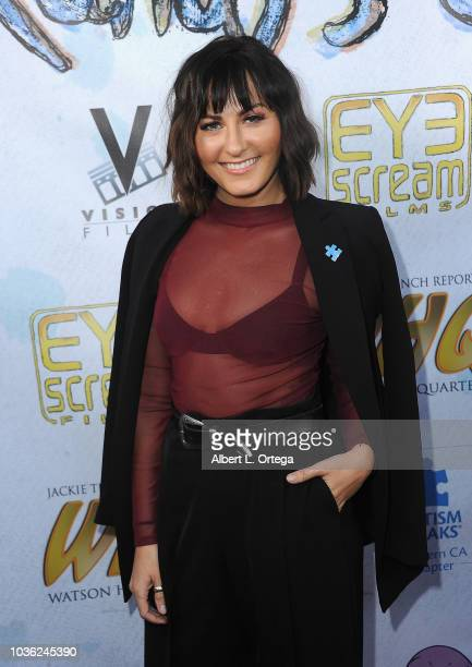 Actress Scout Taylor Compton arrives for WHQ Vision Films Shquib TV and Eye Scream Films' Release of 'Randy's Canvas' held at Laemmle Music Hall on...