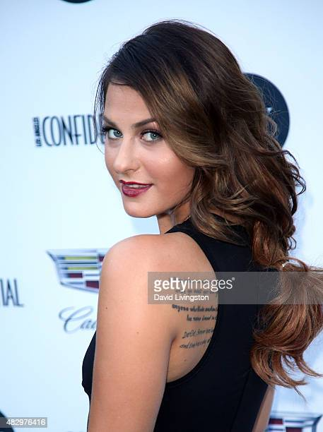 Actress Scout TaylorCompton attends the 2nd Annual Ivy Innovator Film Awards at Smogshoppe on August 4 2015 in Los Angeles California