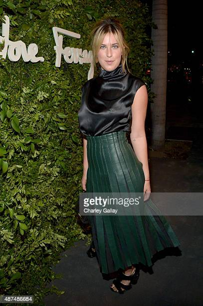 Actress Scout Willis attends as Ferragamo Celebrates 100 Years in Hollywood at the newly unveiled Ferragamo boutique on September 9 2015 in Beverly...