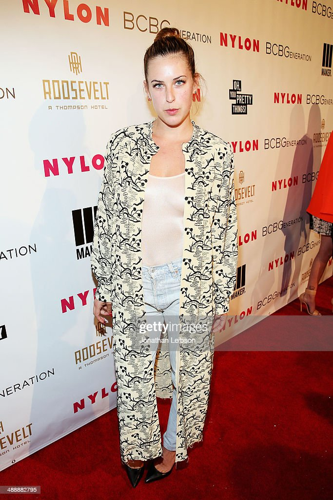 Actress Scout Willis attends the Nylon + BCBGeneration May Young Hollywood Party at Hollywood Roosevelt Hotel on May 8, 2014 in Hollywood, California.