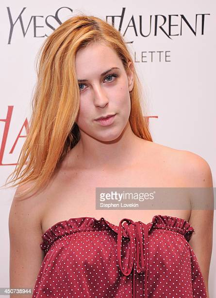 Actress Scout Willis attends the Yves Saint Laurent Couture Palette The Cinema Society premiere of The Weinstein Company's 'Yves Saint Laurent' at...