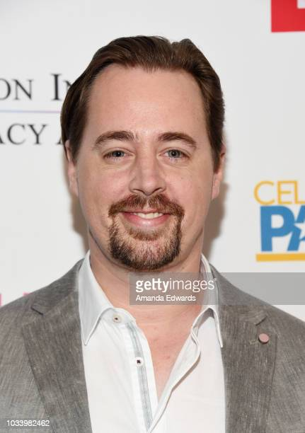 Actress Sean Murray arrives at 2018 Television Advocacy Awards Benefiting The Creative Coalition at the Sofitel Los Angeles at Beverly Hills on...