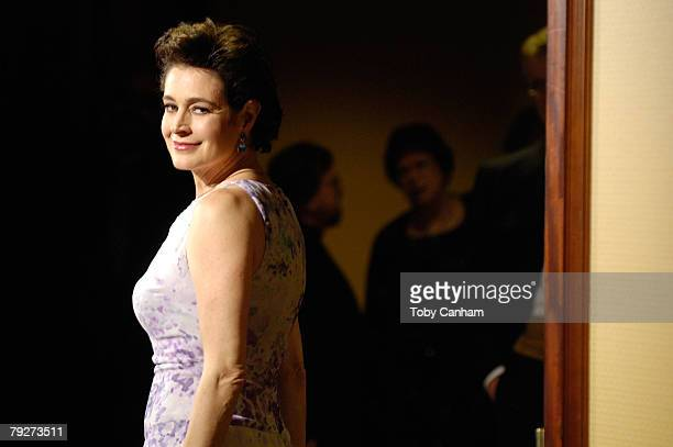 Actress Sean Young arrives at the 60th annual DGA Awards held at the Hyatt Regency Century Plaza Hotel on January 26, 2008 in Los Angeles, California.
