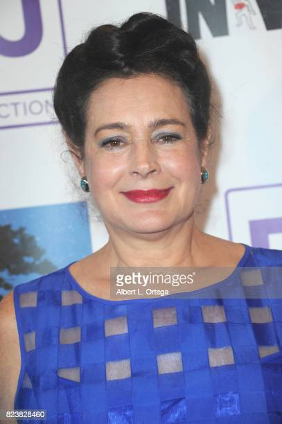 """Actress Sean Young arrives for the Sneak Preview Of """"In Vino"""" held at Writers Guild Theater on July 27, 2017 in Beverly Hills, California."""