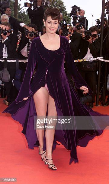 Actress Sean Young at closing night in Cannes. Photo by Dave Hogan/Getty Images