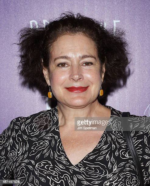 Actress Sean Young attends a screening of Film Movement's Breathe hosted by The Cinema Society and Dior Beauty at Tribeca Grand Hotel on September 9...